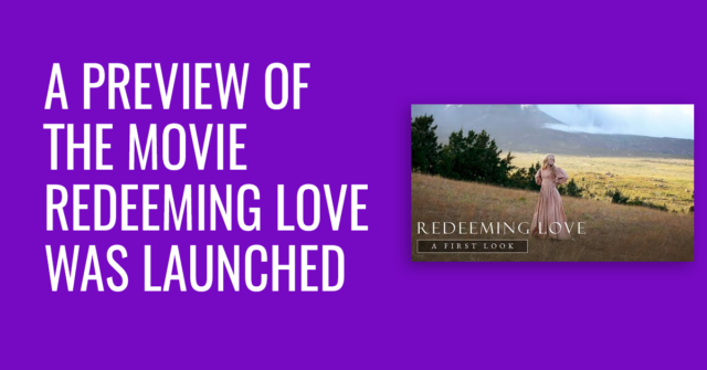 A preview of the movie Love Redeemer was launched