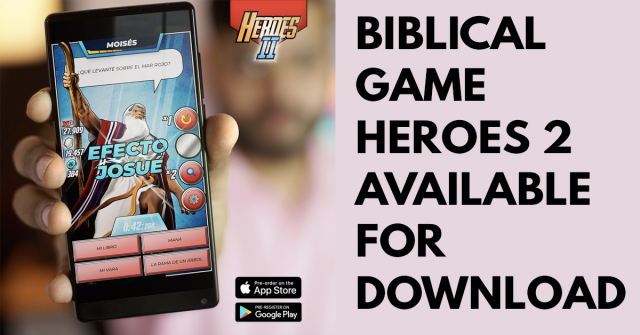 Bible question and answer game Heroes 2 available for download