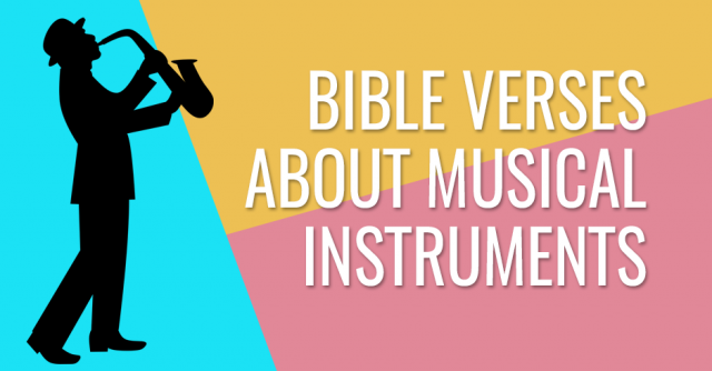 Bible verses about musical instruments
