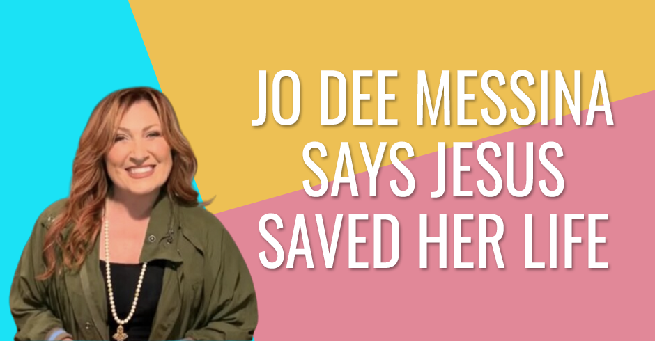 Jo Dee Messina says that Jesus saved her life