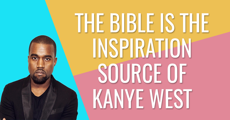 Kanye West says the Bible is better than Pinterest