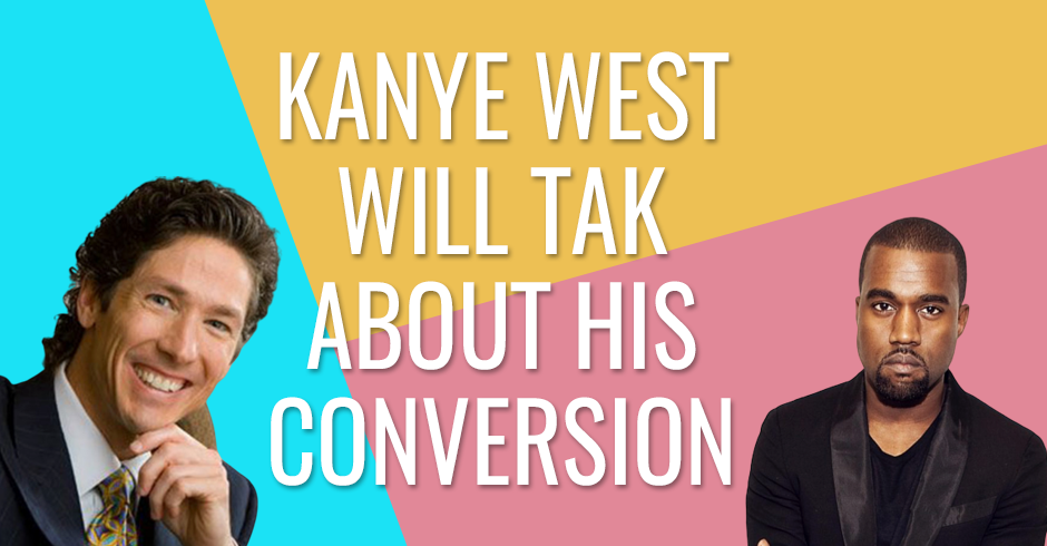Kanye West will talk about his conversion