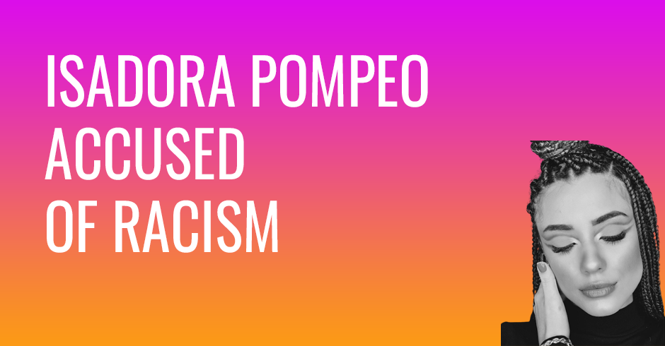 Christian singer Isadora Pompeo accused of racism, apologizes