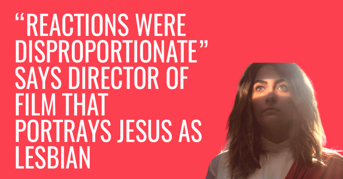 Reaction against Jesus woman character is disproportionate, says producer