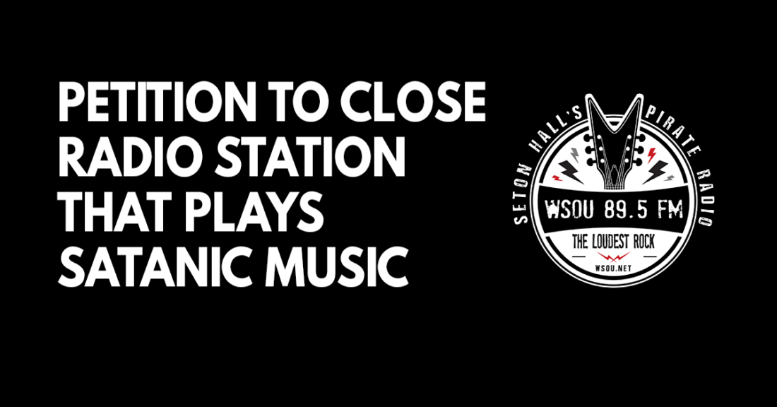 Petition to close station that plays satanic music
