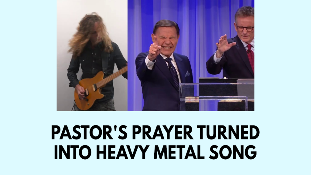 Pastor's prayer turned into heavy metal song