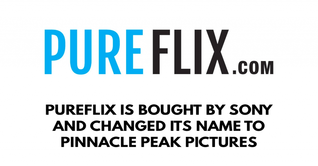 pureflix is bought by sony and changed its name to Pinnacle Peak Pictures
