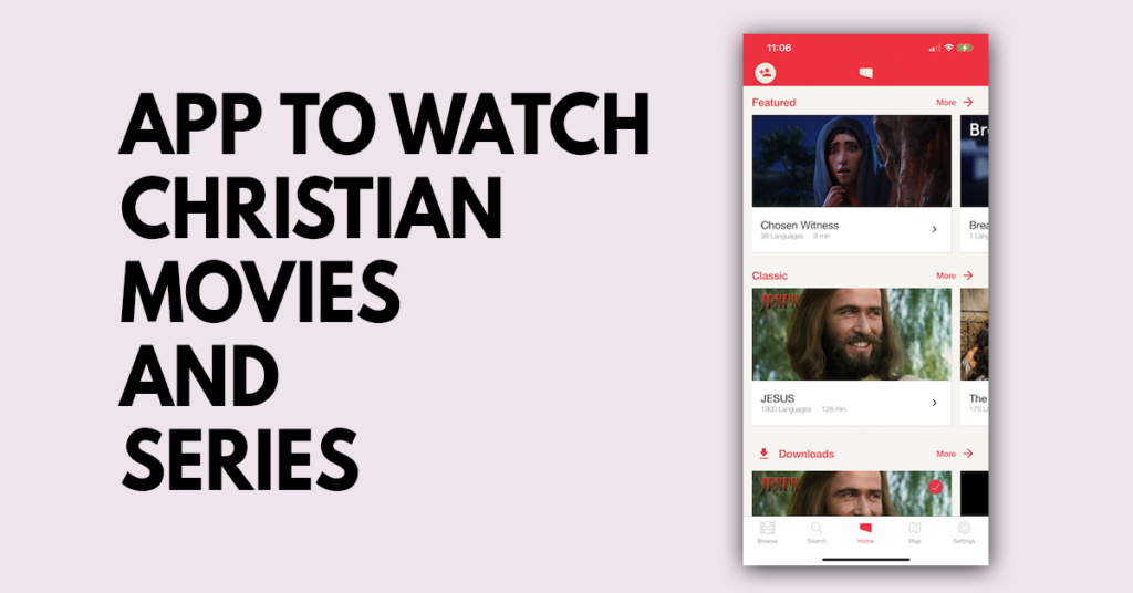 App to watch Christian movies and series