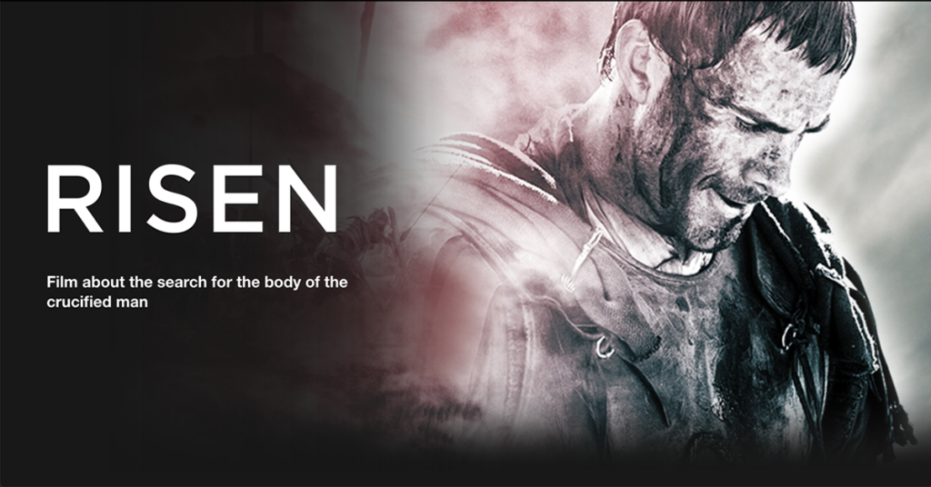 Risen- Film about the search for the body of the crucified man